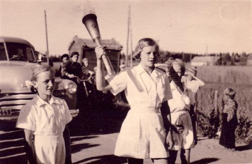Olympiasoihtu 1952