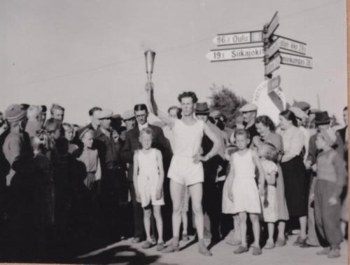 Olympiasoihtu Pattijoella 1952