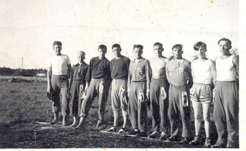 PaTen pesäpallojoukkue 1956
