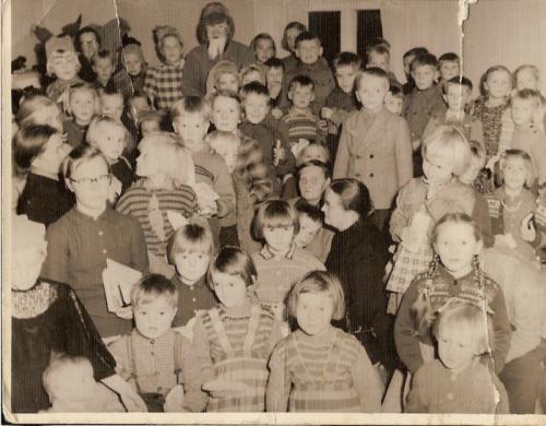 Pyhäkoulun pikkujoulu 50-luvulla