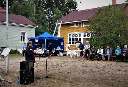Sari Pekkalan avauspuhe Pattijoki-päivät 2019.